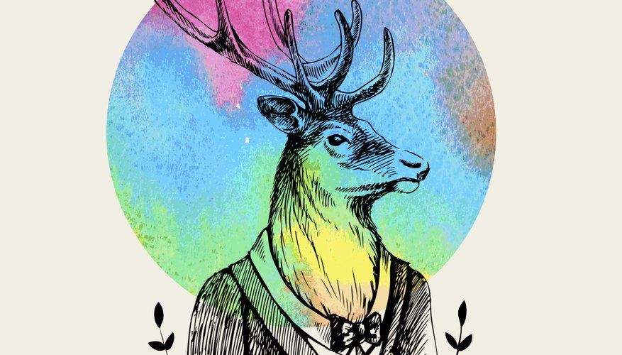 You could go as a distinguished deer wearing gentleman's clothes.