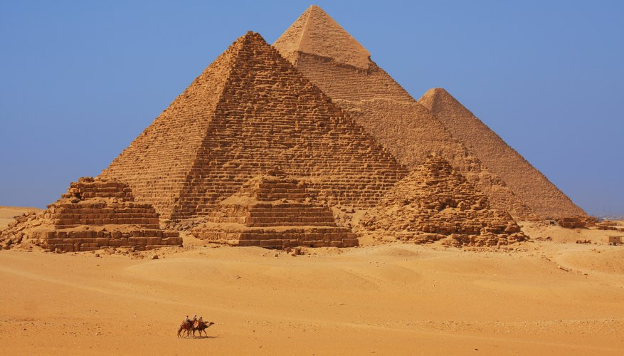The Great Pyramid, also known as Akhet Khufu, is the largest pyramid in Egypt.
