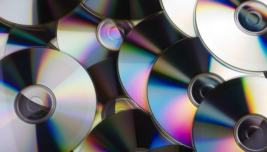 Pila de discos compactos