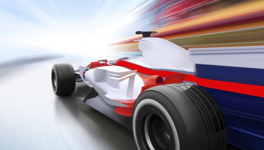 Los autos de carrera utilizan nitrógeno líquido para mejorar su rendimiento.