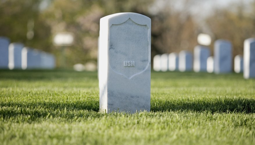 Charities may help provide funds to purchase a headstone to memorialize your loved one.