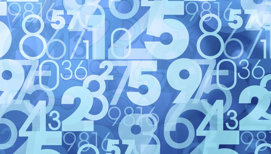 Data can be organized into a frequency table for quick reference.
