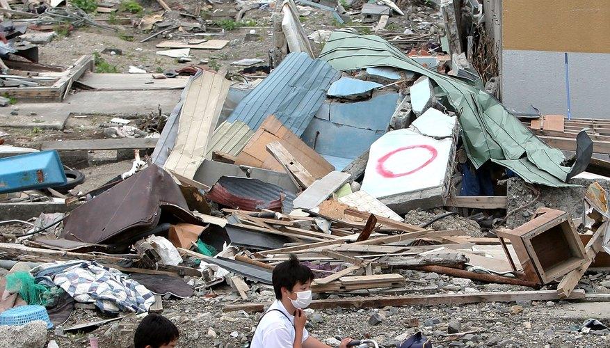 El gran terremoto que asoló Japón el 11 de marzo de 2011, registró 9,0 en la escala de Richter.