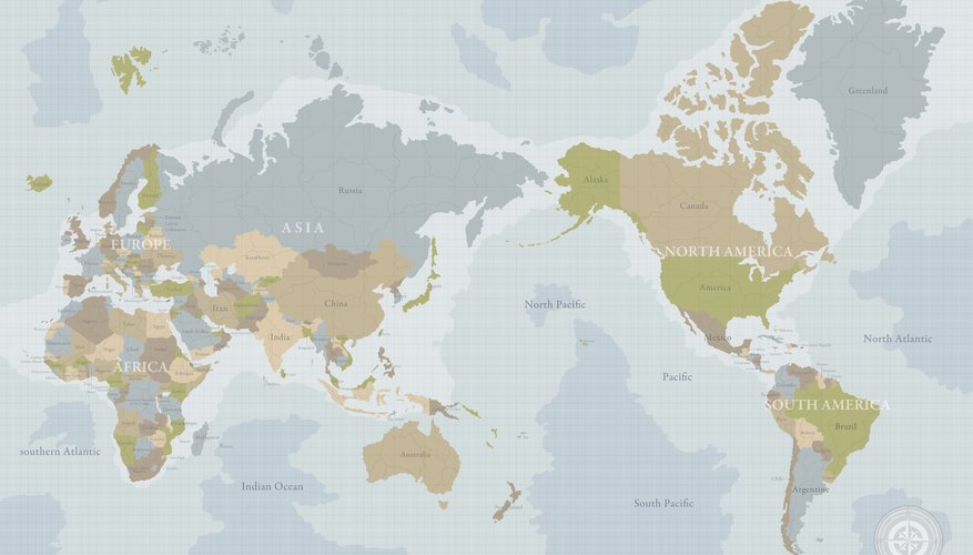 World Map. The Northern Hemisphere Refers To The Half Of The Planet That Is  North Of The Equator, While The Southern Hemisphere Is All Of The Planet  South ...