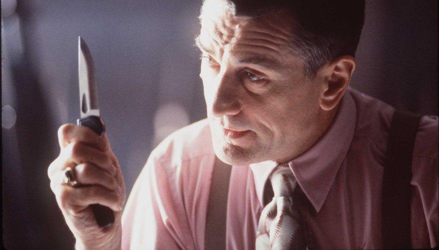 Robert De Niro es conocido por sus personajes violentos e inmiscuidos en la mafia.
