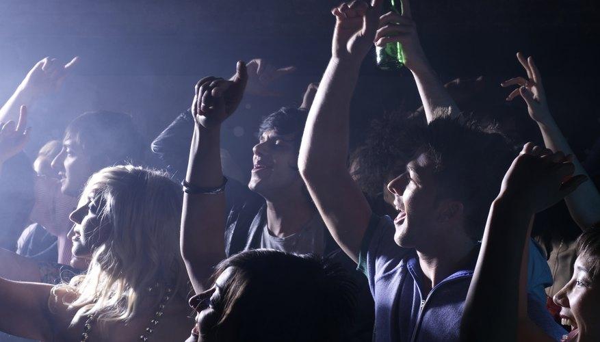 ga clubs Teen night in