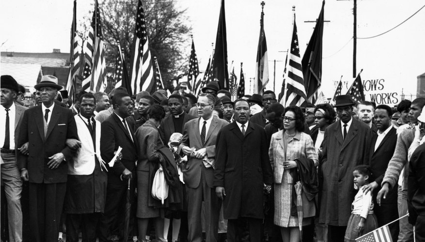 The beating of marchers in Selma, Alabama helped persuade Congress to pass the 1965 Voting Rights Act.