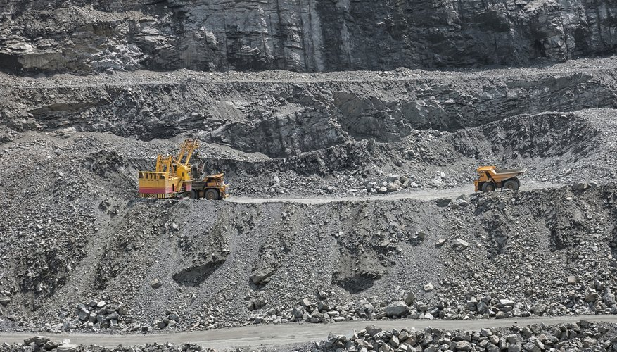 An open pit mine is cheaper and safer to operate.