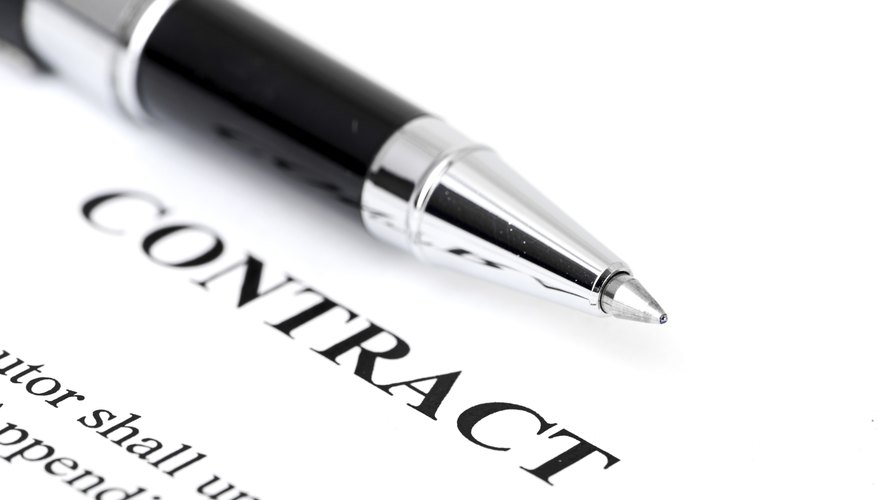 What Is A Master Netting Agreement Bizfluent