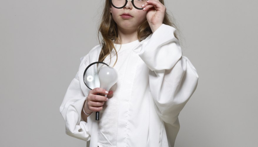 Your science-loving kid can come up with inventions.