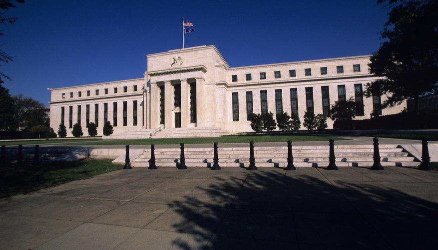 La Reserva Federal fija las tasas de interés en Estados Unidos.