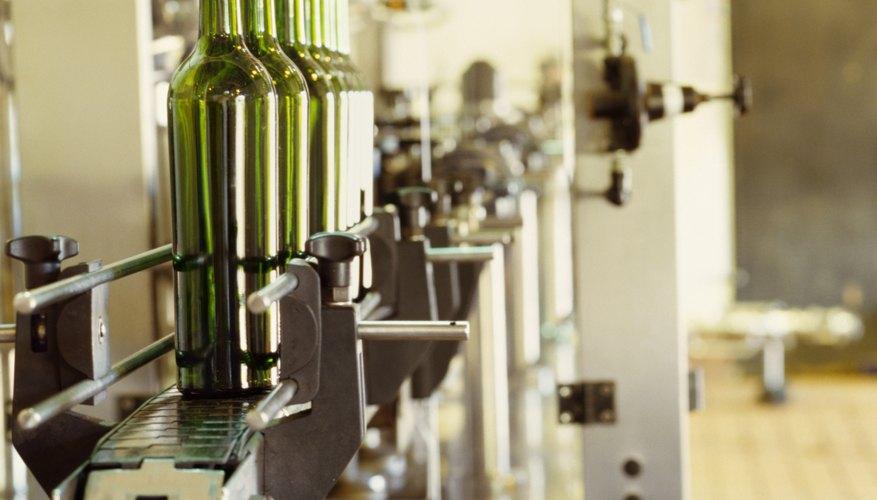 Los cuellos de botella de la producción causan que los bienes se acumulen en un puesto del proceso.