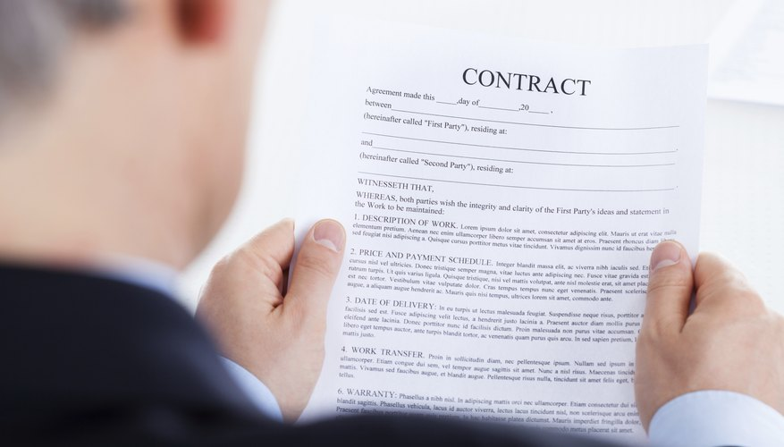 How To Write A Buyout Letter Bizfluent