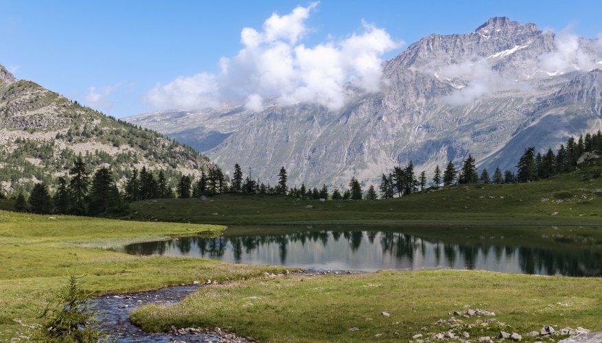 A freshwater lake