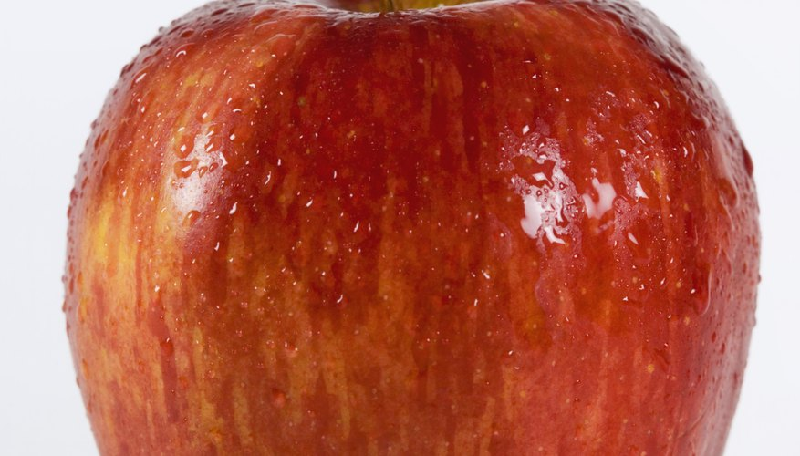 Red Delicious apples are typically sweet and crisp.