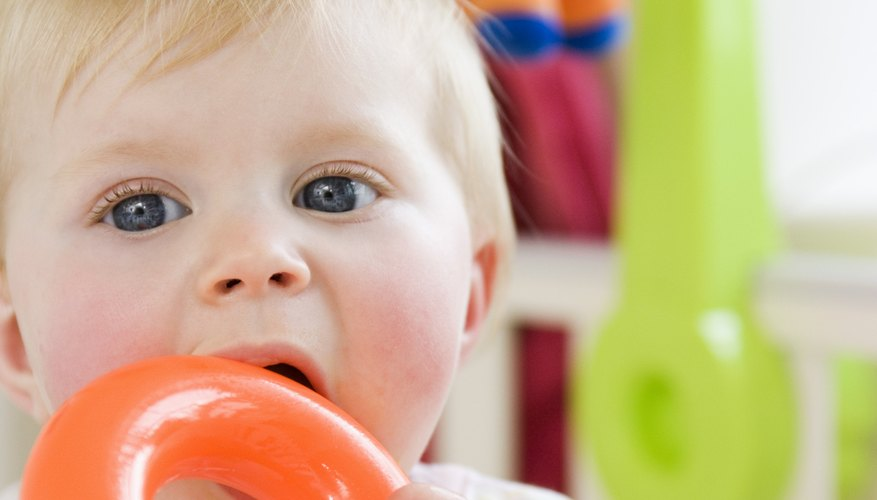 Vomiting is generally not a normal symptom of teething.