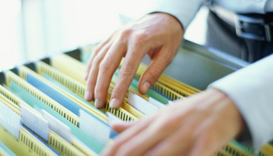La organización de las facturas y recibos ahora puede pagar dividendos en el futuro.