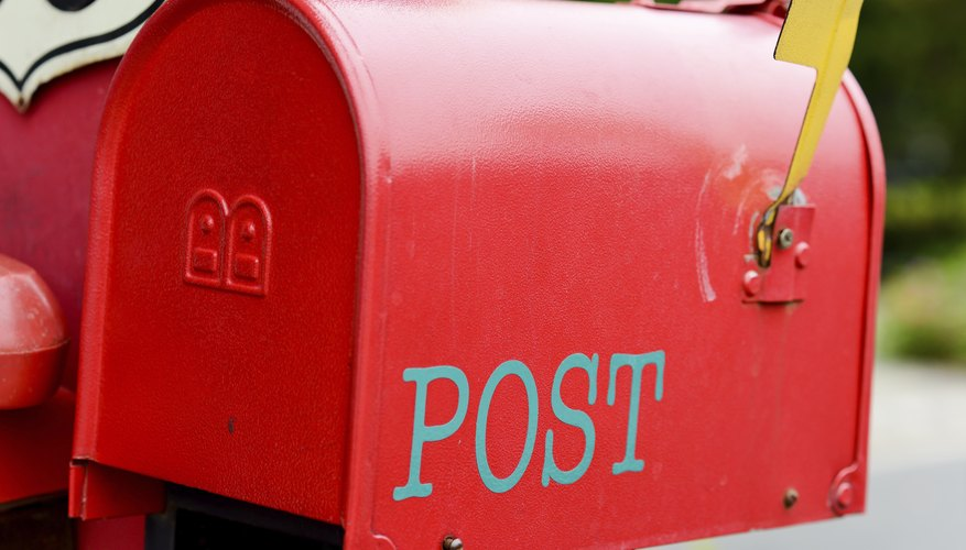 The red mailbox