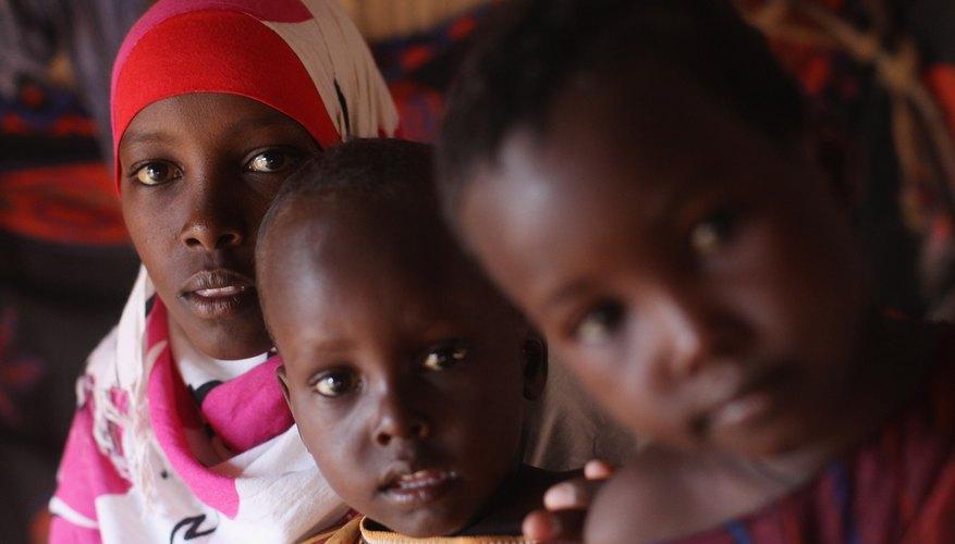 Mucho de los refugiados que buscan asilo en Europa son de África.