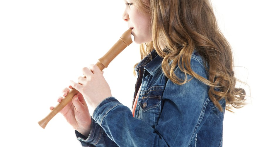 Woodwinds, like this recorder, are aerophones.