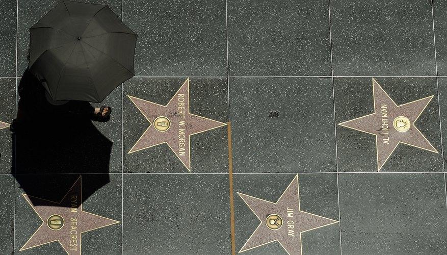 Cómo obtener una estrella en el Paseo de la fama de Hollywood.