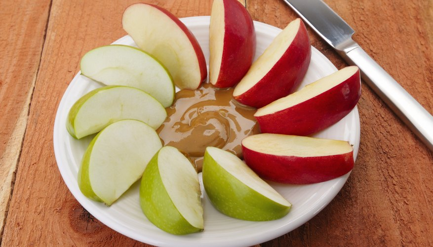 Peanut butter and fruit