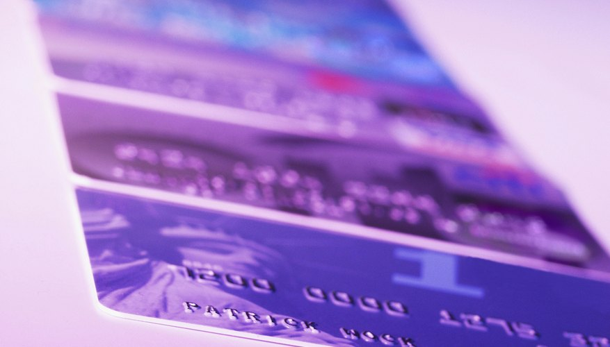 Credit card numbers contain useful information.