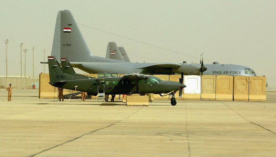 Iraqi Air Force Demonstrate Intelligence, Surveillance and Reconnaissance Aircraft Capability