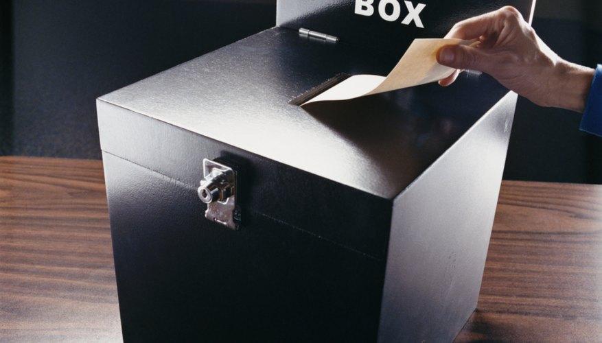 Las elecciones de los consejos estudiantiles son una forma útil para que los niños aprendan el negocio de la política.