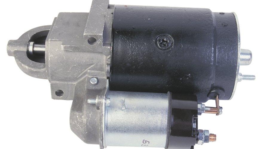 Un motor de arranque es una de las partes complejas de uno moderno.