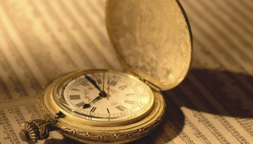 As demand for quality antique timepieces increases and the supply decreases, prices rise.