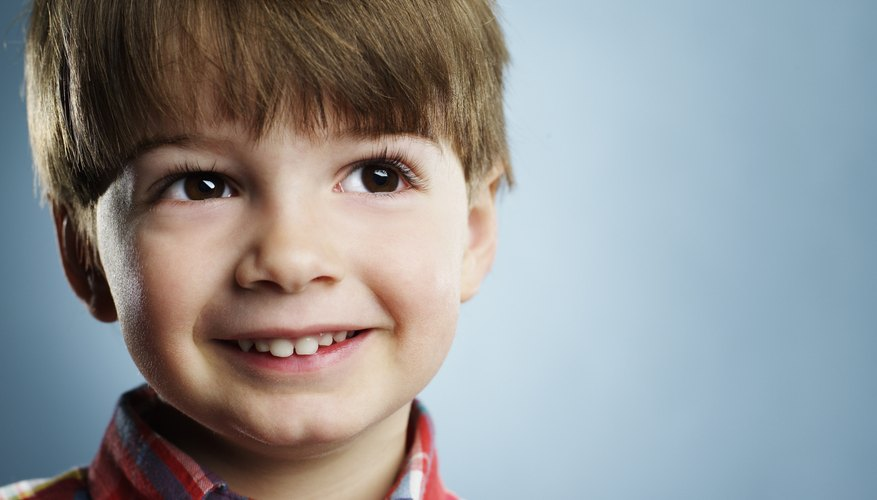 Teach your child the emotion labels for facial expressions and other body language.