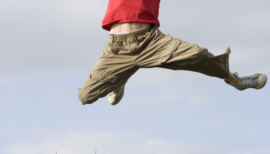 A child breaking free from his comfort zone can achieve amazing heights.