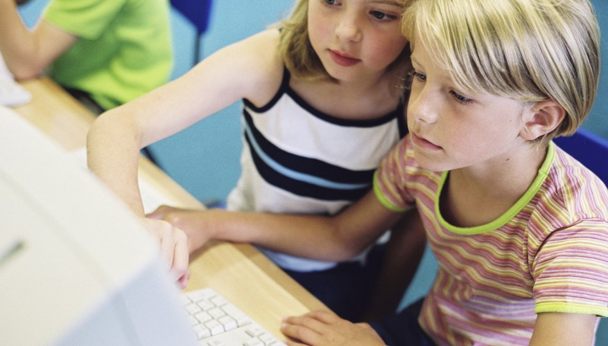 Teach children to navigate the Internet safely.