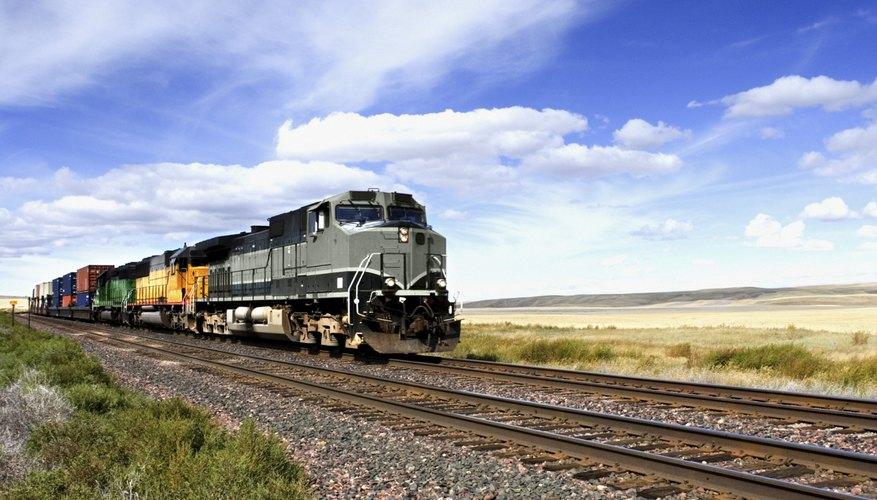 Los problemas matemáticos con trenes pueden ser resueltos usando tres fórmulas.