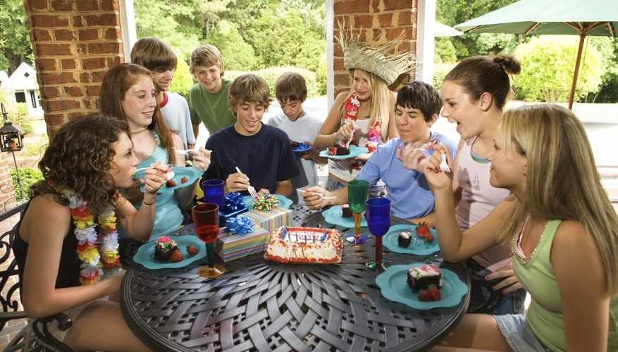 For a successful coed teen birthday party, plan a variety of activities.