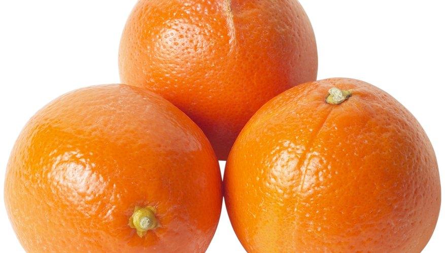 La cáscara de naranja puede ser utilizada para elaborar cerveza.