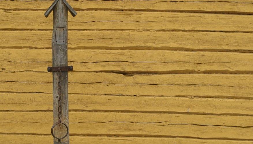 Manualidad con palitos de madera.