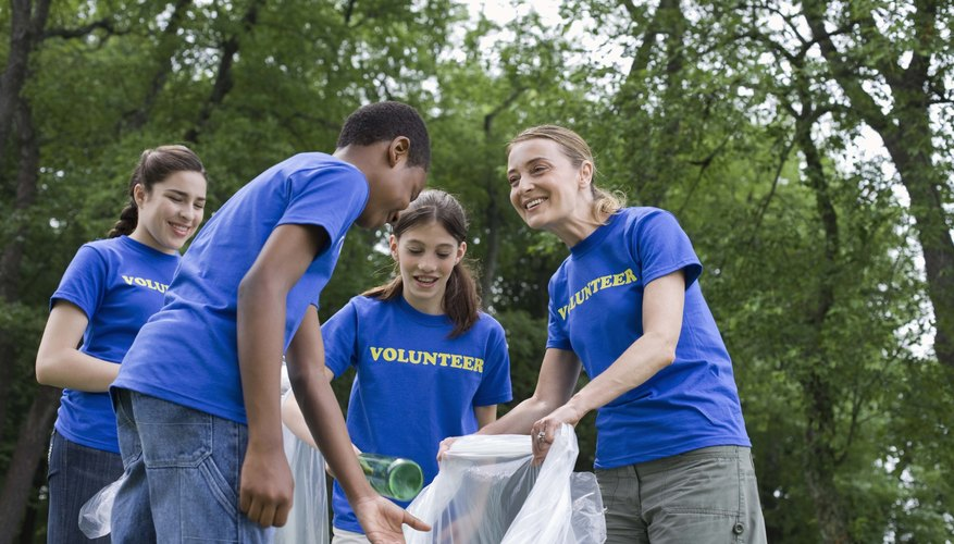 Teens can serve in and outside of the church.
