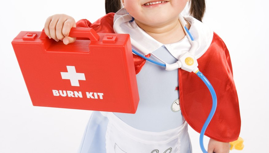 Ask your little nurse to make you better.