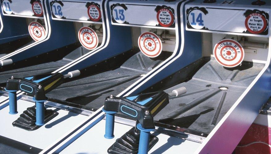 Arcade games at carnival