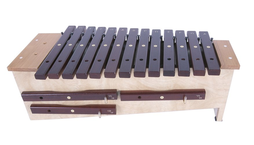 A xylophone is a pitched percussion instrument.