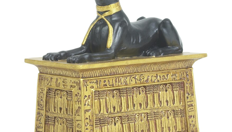 Coffins were made of a wide range of materials.