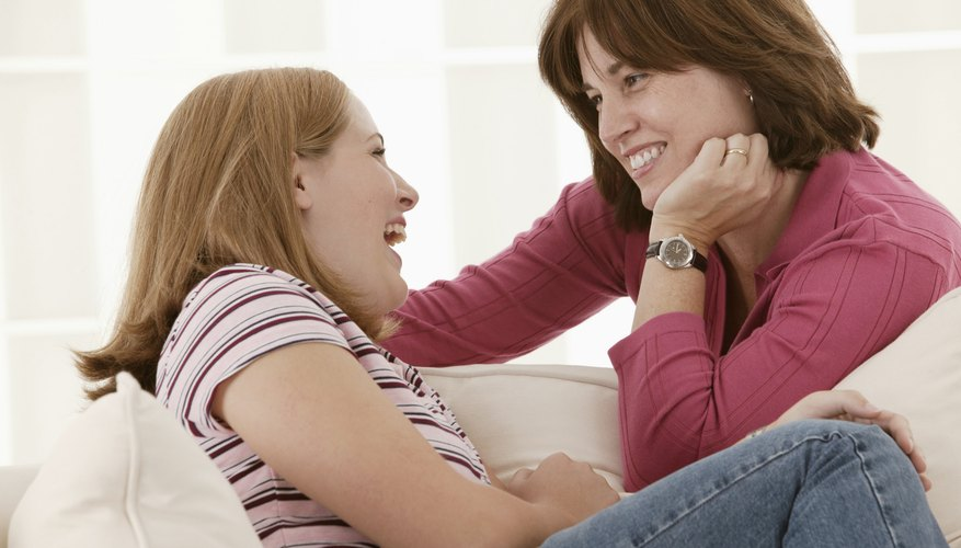 Respectful conversation is the key to getting your teen's attention.