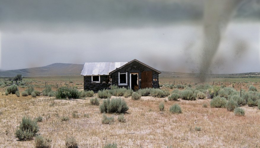 Tornadoes pose a significant threat to populated areas and farmland.