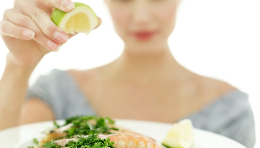 Add lemon and herbs to food and avoid salt.