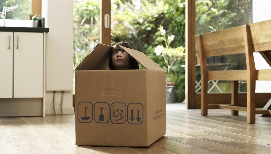 Una caja para esconderse
