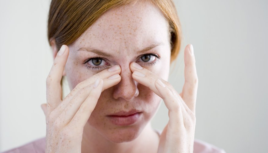 A bacterial sinus infection is treated primarily with antibiotics to ward off any infection.