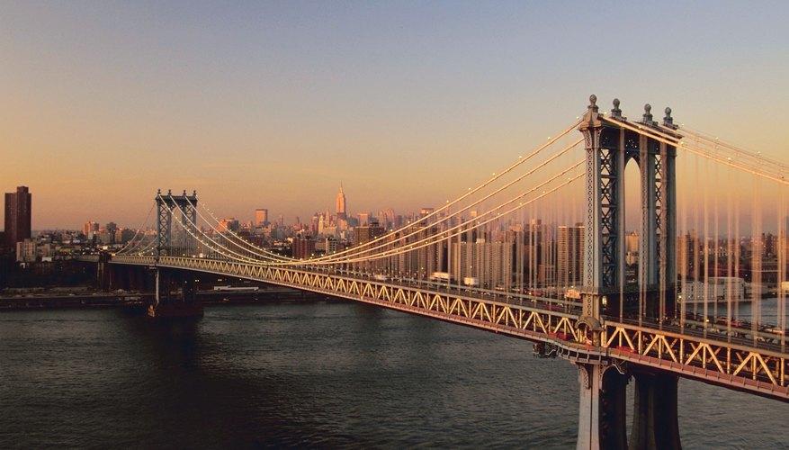 Los puentes colgantes han existido por cientos de años.