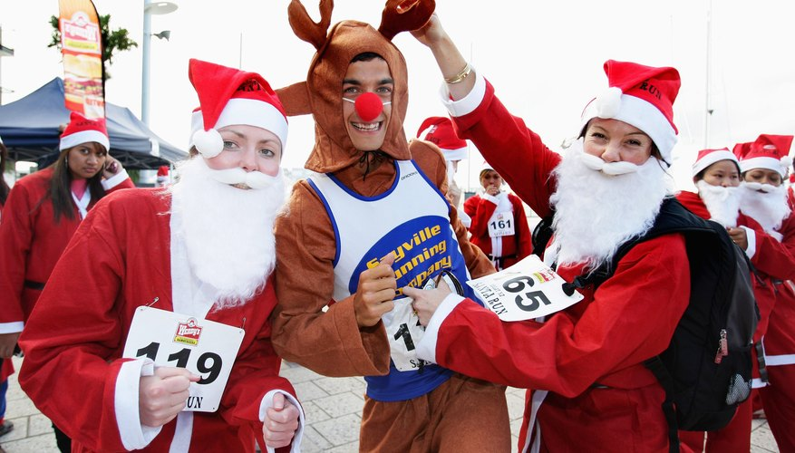 Great Santa Run in Auckland, New Zealand